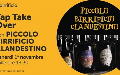 Piccolo Birrificio Clandestino – TAP TAKE OVER