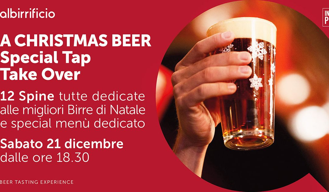A Christmas Beer – Special TAP TAKE OVER